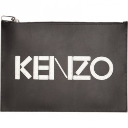 Kenzo PM502 LEATHER IPAD SLEEVE Tasker Black