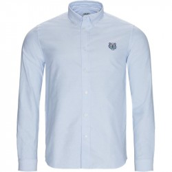 Kenzo Regular fit FA556400ELD Skjorter Lysblå