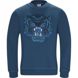 Kenzo Regular slim fit F865SW0014XV Sweatshirts Petrol