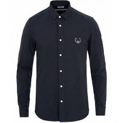 Kenzo Slim Fit Oxford Shirt Ink