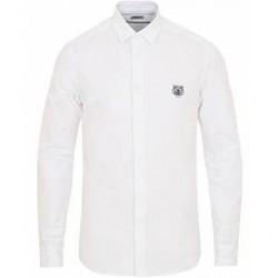 Kenzo Slim Fit Oxford Shirt White