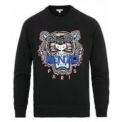 Kenzo Tiger Classic Sweatshirt Black