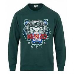 Kenzo Tiger Classic Sweatshirt Pine
