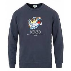 Kenzo Tiger Head Back To School Sweatshirt Ink
