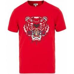 Kenzo Tiger T-shirt Red