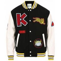 Kenzo Varsity Jacket Black