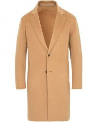 Kenzo Wool/Cashmere Overcoat Camel
