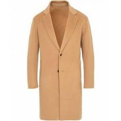 Kenzo Wool/Cashmere Overcoat Camel
