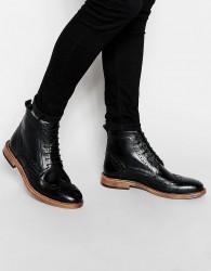 KG by Kurt Geiger Brogue Boots - Black