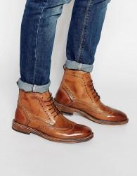 KG by Kurt Geiger Brogue Boots - Tan