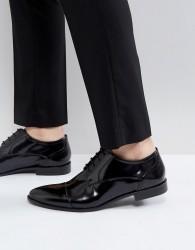 Kg By Kurt Geiger High Shine Toe Cap Shoes - Black