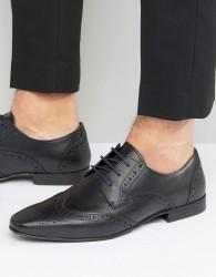 KG By Kurt Geiger Kenford Brogue Derby Shoes - Black
