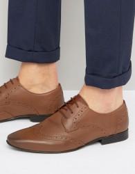 KG By Kurt Geiger Kenford Brogue Derby Shoes - Tan