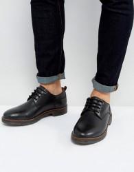 Kg By Kurt Geiger Marston Lace Up Shoes Black Leather - Black