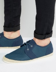 KG By Kurt Geiger Mesh Shoes In Navy - Blue