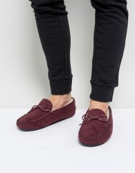 Kg By Kurt Geiger Moccasin Slippers - Red