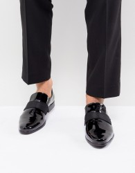 KG By Kurt Geiger Patent Loafers - Black