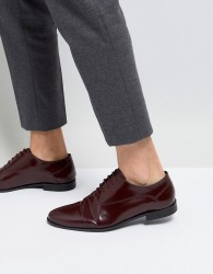 KG By Kurt Geiger Rayleigh Hi Shine Derby Shoes - Red