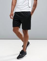 Ki5-A Bonded Seamless Gym Shorts - Black
