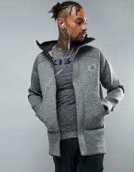Ki5-A Tech Hoodie - Grey