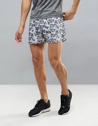 Ki5-A Zinc Running 35cm Gym Shorts - Black
