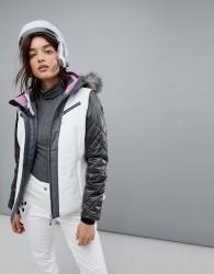 Killtec Function Ski Jacket With Detachable Hood - White