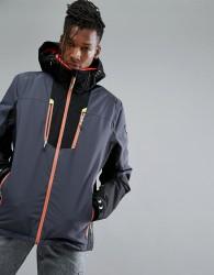 Killtec Simen Hooded Ski Jacket - Grey