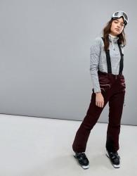Killtec Ski Pants With Detachable Straps - Grey