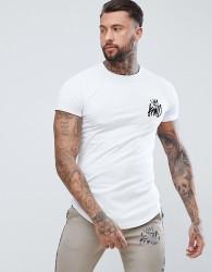 Kings Will Dream Muscle Logo T-Shirt In White - White