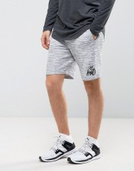 Kings Will Dream Skinny Shorts In Grey - Grey