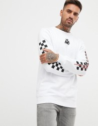 Kings Will Dream sweatshirt with chest logo in white - White