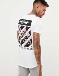 Kings Will Dream t-shirt with back print - White