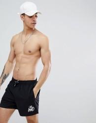 Kings Will Dream Tolson Swim Shorts In Black With Logo - Black