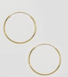 Kingsley Ryan Gold Plated 35MM Hoop Earrings - Gold