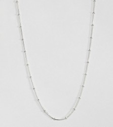 Kingsley Ryan sterling silver ball detail chain necklace - Silver
