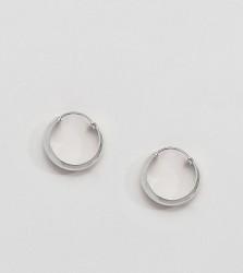 Kingsley Ryan Sterling Silver Chunky Hoop Earrings - Silver