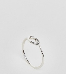 Kingsley Ryan Sterling Silver Knot Ring - Silver