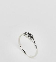 Kingsley Ryan Sterling Silver Skull Ring - Silver