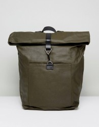 Kiomi Backpack With Leather Trims - Green