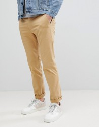 Kiomi Chino Trousers In Beige - Beige