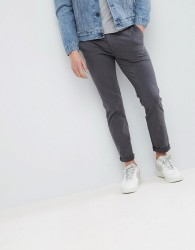 Kiomi Chino Trousers In Grey - Grey