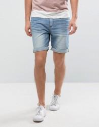 Kiomi Denim Shorts - Blue