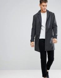 Kiomi Overcoat In Grey - Grey