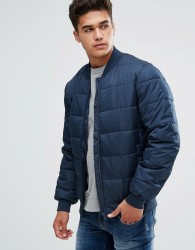 Kiomi Padded Jacket In Navy - Navy
