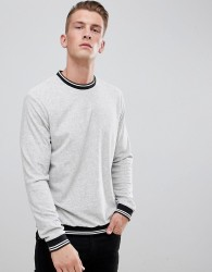 Kiomi Sweatshirt In Grey Towelling - Grey