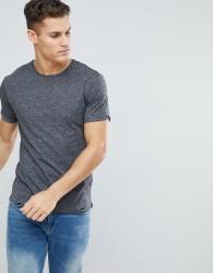 Kiomi T-Shirt In Grey Marl - Grey