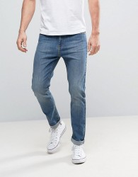 Kiomi Tapered Fit Jeans - Blue