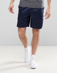 Kiomi Technical Short with Leg Pocket - Navy