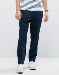 Kiomi Trouser with Zip Pockets - Navy