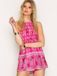 Kiss The Sky Caribbean Playsuit Playsuits Pink
